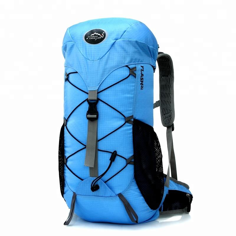 Droshipping New fashion Unisex Waterproof Nylon Outdoor Sports Hiking Backpack For Camping, Custom Outdoor Sport Rucksack