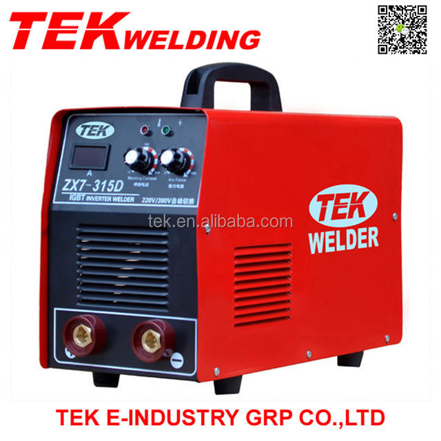 High performance!!! Single IGBT Inverter DC ARC Welder ZX7-315