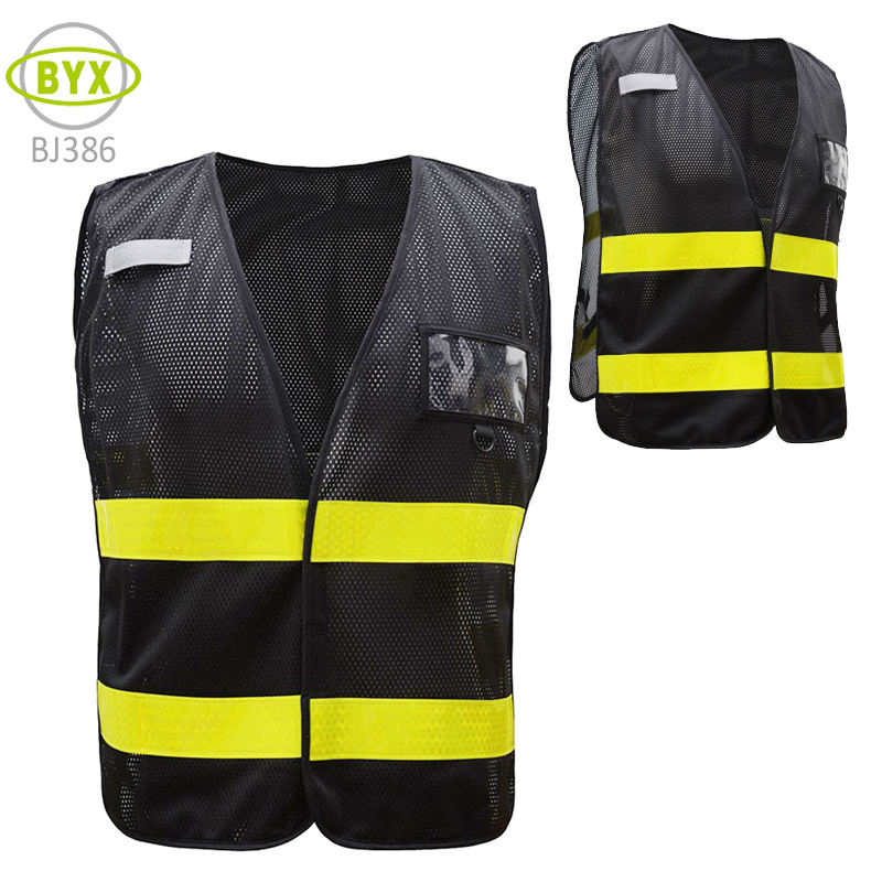 MOTO Gilet Sicurezza secondo EN ISO 20471:2013 BIKE Safety Vest