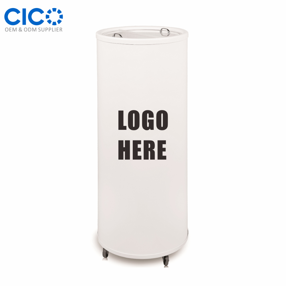 CICO Promotional 85L Can Shape Mini Size Fruit Juice Fridge