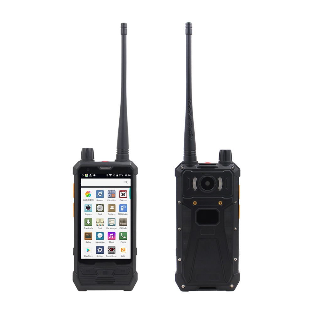Anysecu 4G LTE Zello realptt Unlocked walkie talkie phone P1 5W UHF/DMR Dual Mode Two Way Radio