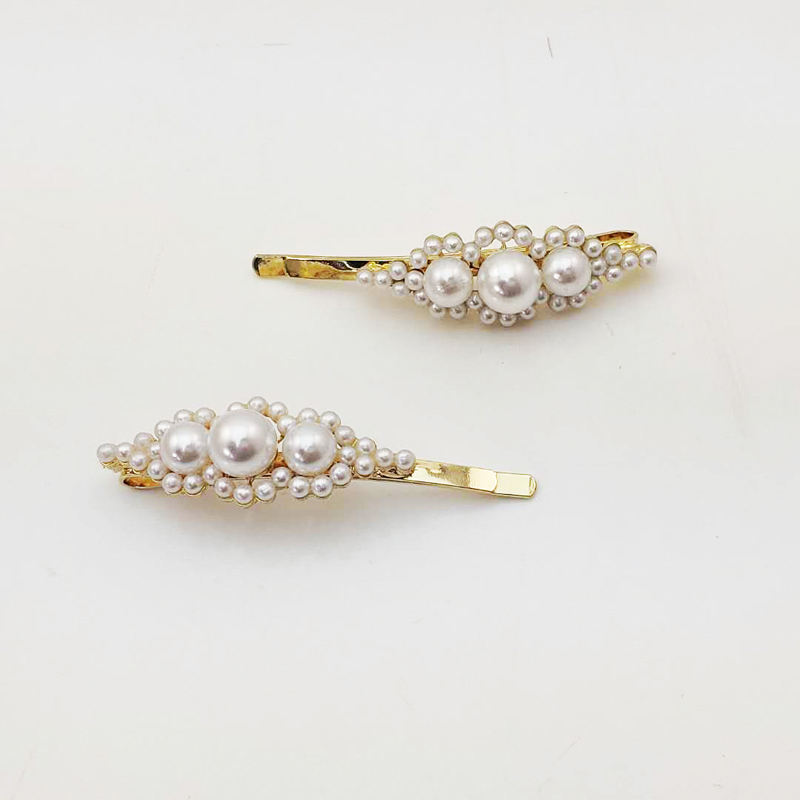 2 pieces pearl hair pins set for women elegant hair accessories hair clip