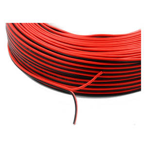 2/3/4/5/6 cores UL2468 PVC insulation flat wire and cable