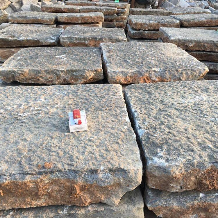antique Granite stone square patios 60*60cm