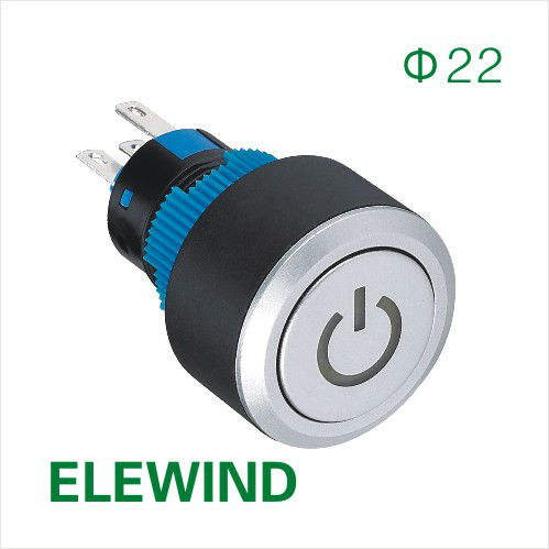 ELEWIND magnetic switch push button(PB223WY-11T)