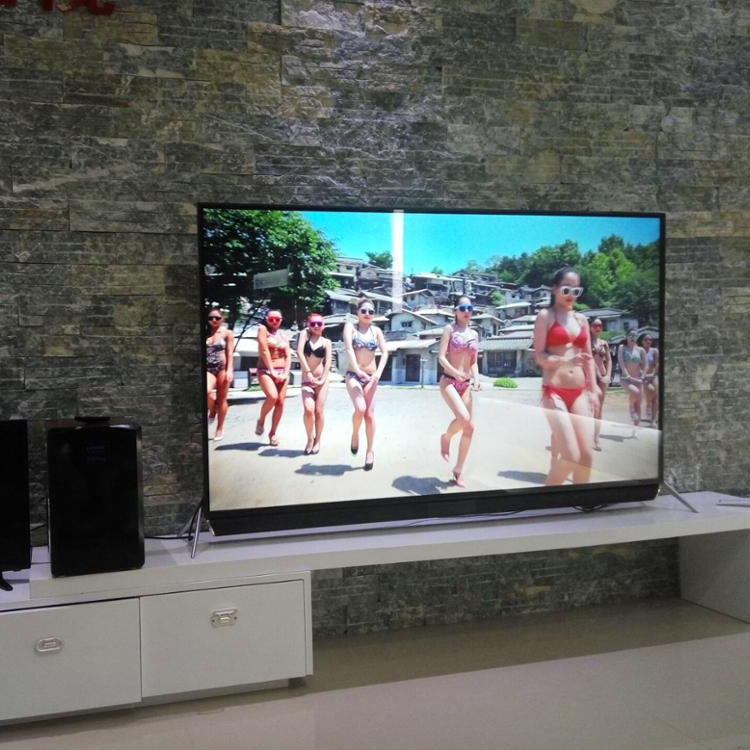 65 55 75 86 polegadas display led tv