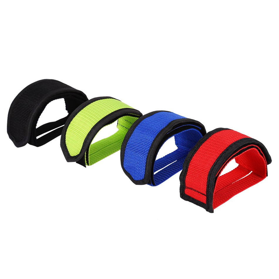 1pc Nylon Bicycle Pedal Straps Belt Fixed Gear Bike   Tape Cycling Fixie Cove SY