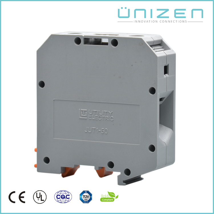 UNIZEN Hot sale cable connector 150 Amp High Current Mounting Terminal Block