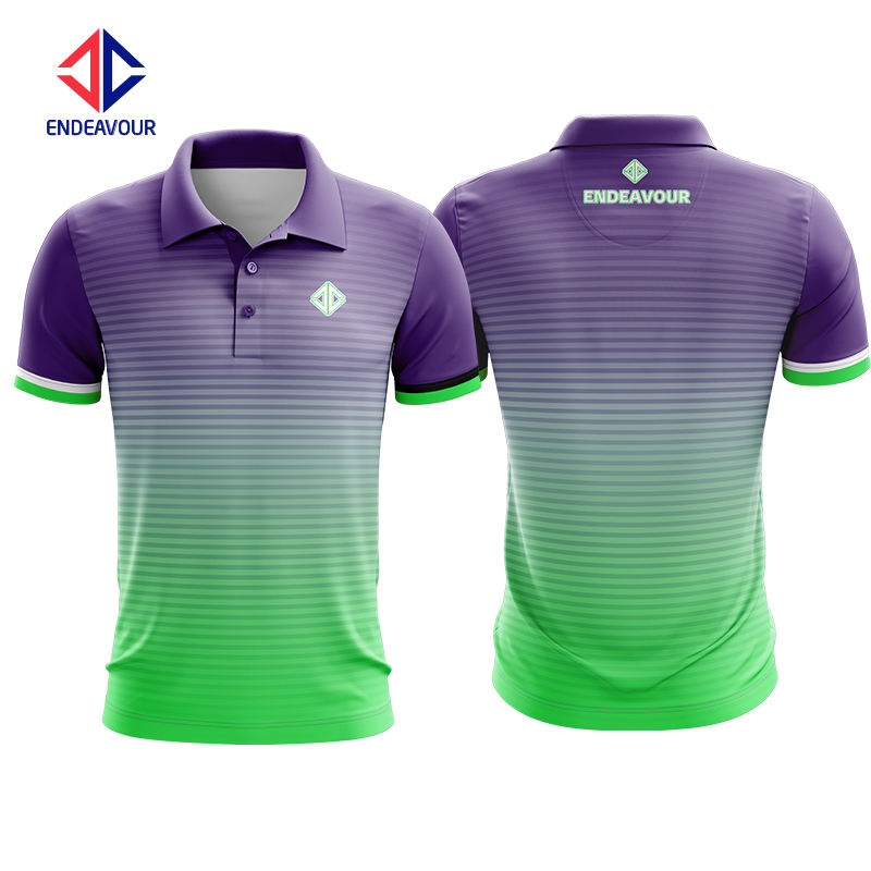 Fully Sublimation polo shirt custom design