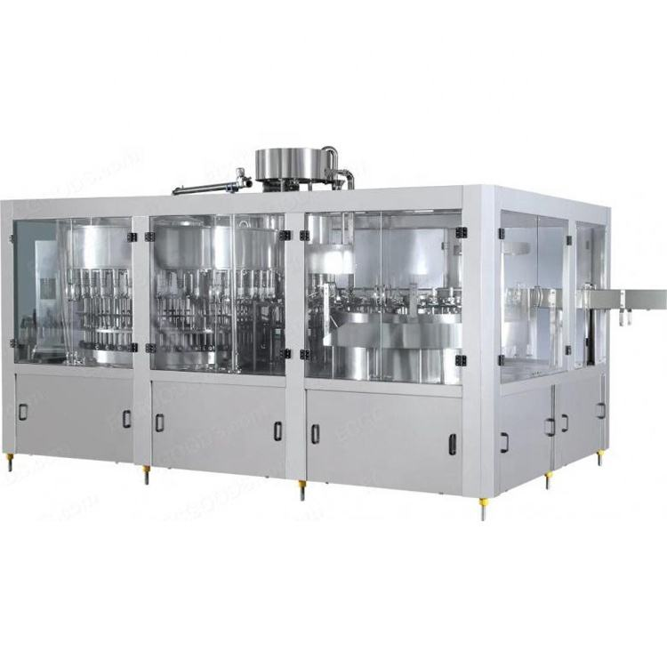 Automatic drinking water producing line 3 in1 water washing filling capping machine full automatic liquid filling machine
