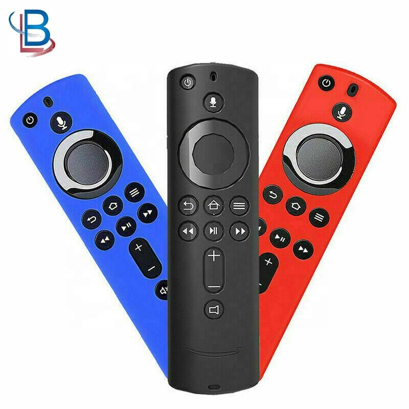 Silicone Protective Cover Case Skin For Amazon Fire TV Stick 4K Remote Control