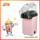 Colorful mini hot air popcorn maker,easy to make popcorn at home