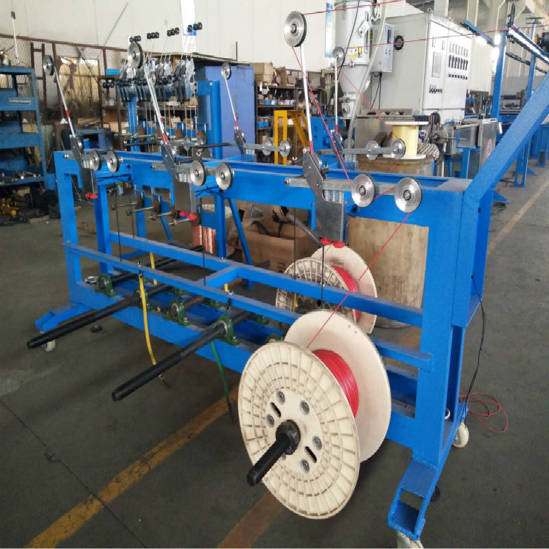FJX-800 ShangHai New Design twisting machine Factory Direct Supply Jia Cheng Cable Machine Single Twist Machine