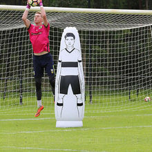 Hot Sale Cheap 1.75M Inflatable Body Soccer Training Dummy/Football Sport Keeper Dummy For Sale