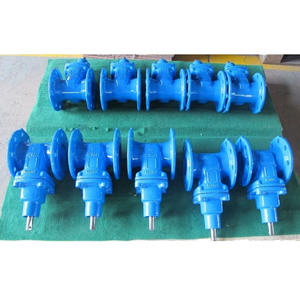 AWWA resilient seated wedge gate valve with prices
