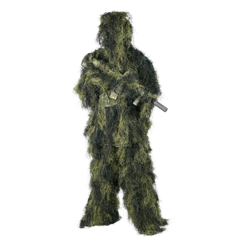 Hot new products army one single piece design construction hunting camouflage suit ghillie suit