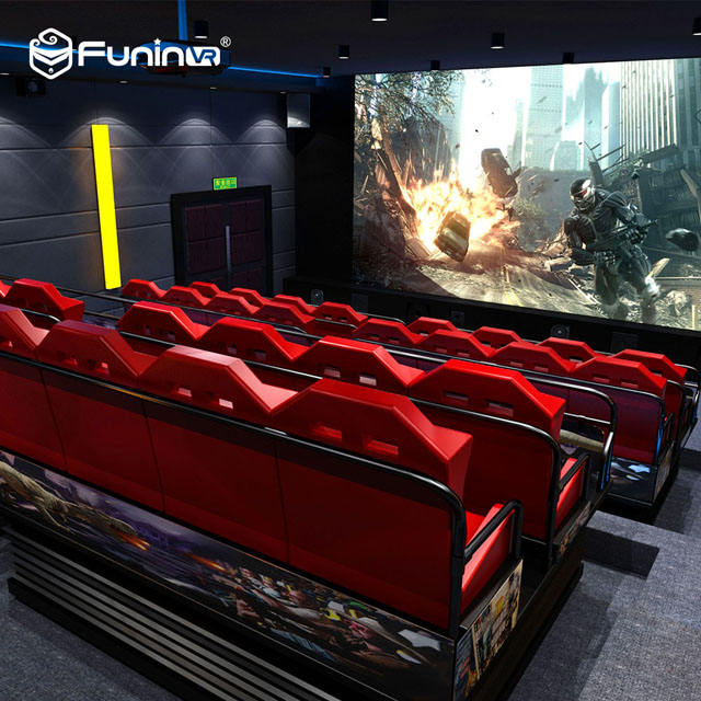 FuninVR High quality truck mobile 5d 7d 12d cinema equipment simulator for sale
