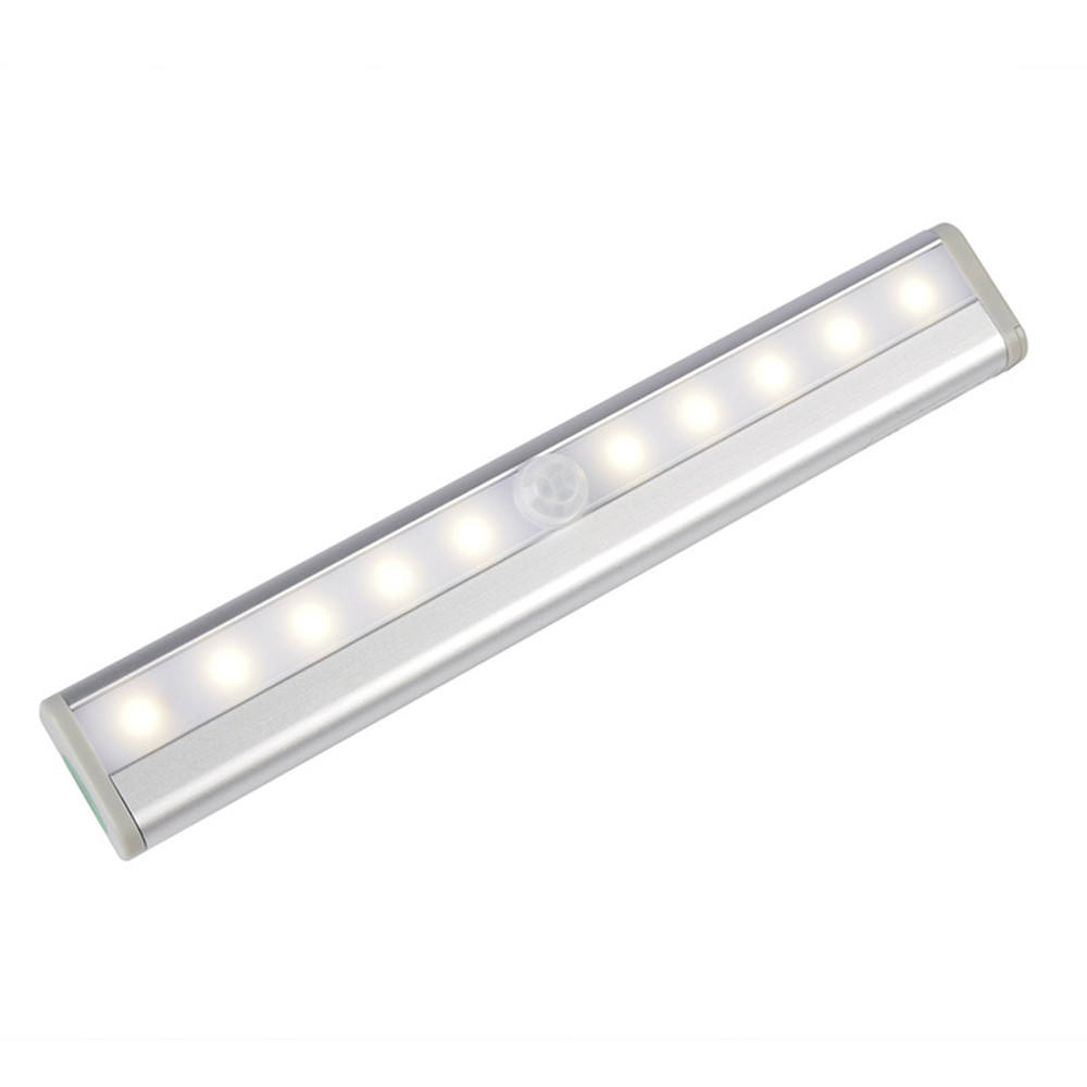10-Led Light Nieuwste Versie Oplaadbare Motion Sensor Closet Projector Nachtlampje