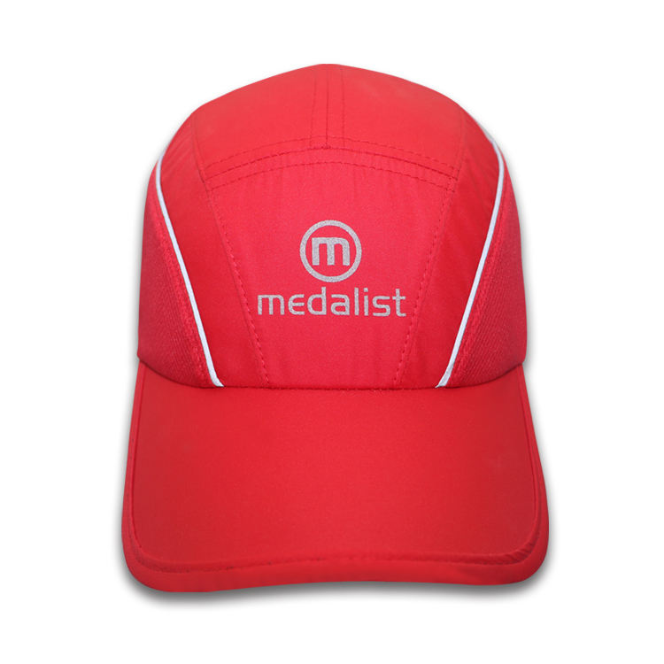 100% Polyester Custom Dry Sports Running Baseball Caps