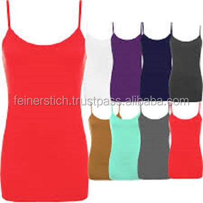 Sexy looking women tang top with Bangladesh factory price