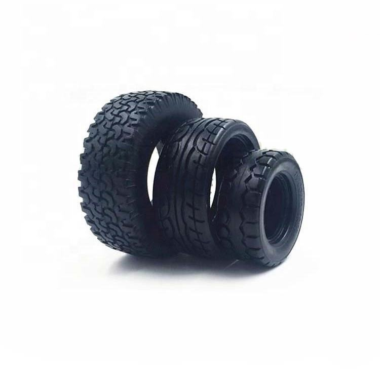 Customized Toy Rubber Tires for Toy Cars / Silicone Toy Car Wheels