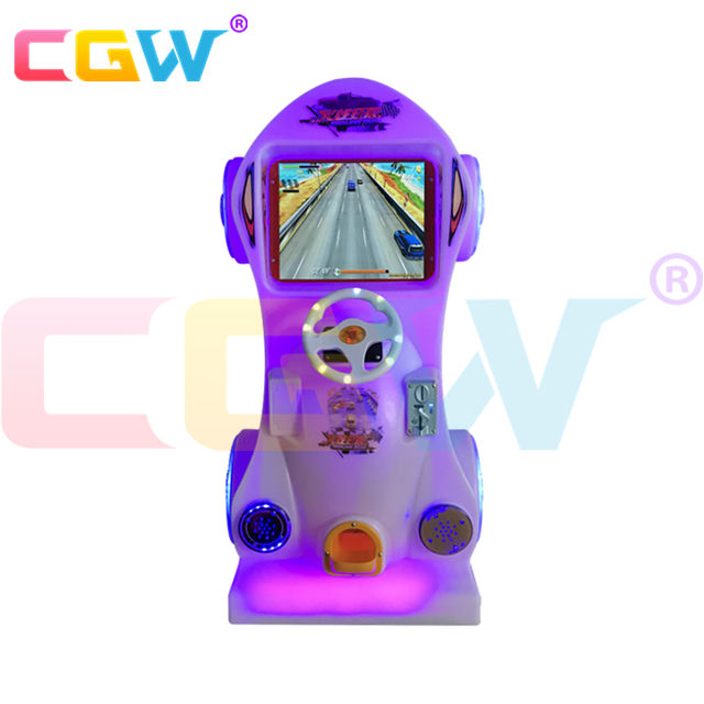 CGW Coin Operated Arcade Games Car Arcade Racing Car Game Machine For Kids