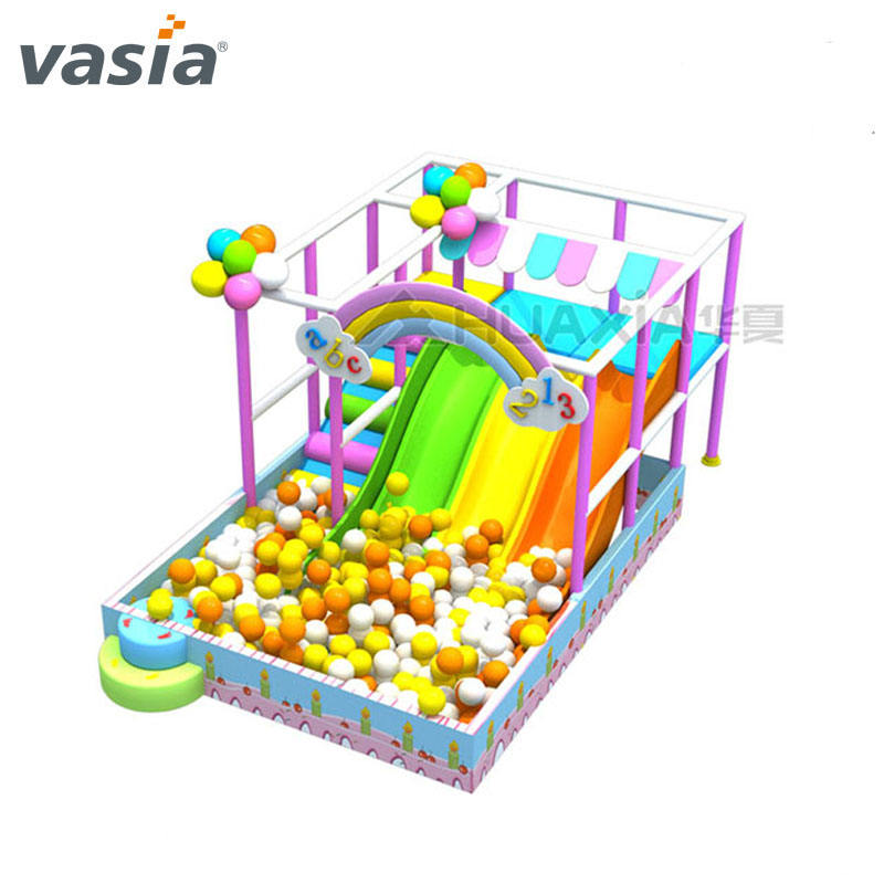 Vasia <span class=keywords><strong>Commerciële</strong></span> Kinderen Slide Kids Soft Play Indoor <span class=keywords><strong>Speeltuin</strong></span> Apparatuur In China