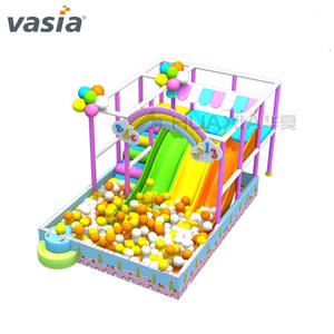 Vasia Commerciële Kinderen Slide Kids Soft Play Indoor Speeltuin Apparatuur In China