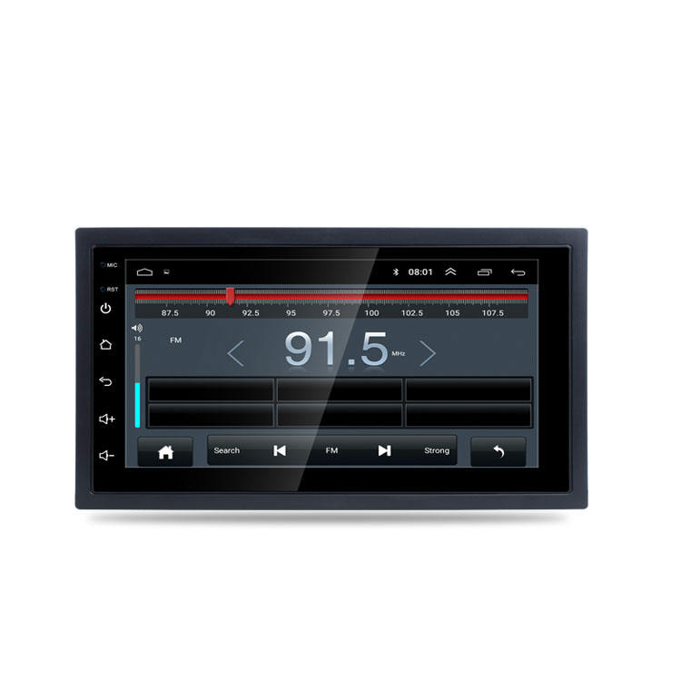 Quad core! 2 din Android Car Radio Player Con Schermo Capacitivo/GPS/Specchio Link/DVR/TPMS/OBD2 /WIFI/4G/3G/<span class=keywords><strong>IPOD</strong></span>