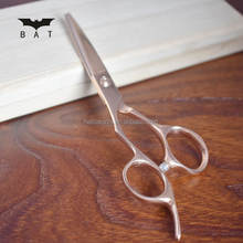 RZL-55Z Rose-gold Professional Hitachi SUS 440C 5.5 inch hair cutting scissors lefty handed scissors for beauty