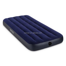 Adjustable new design intex inflatable flocked air bed mattress