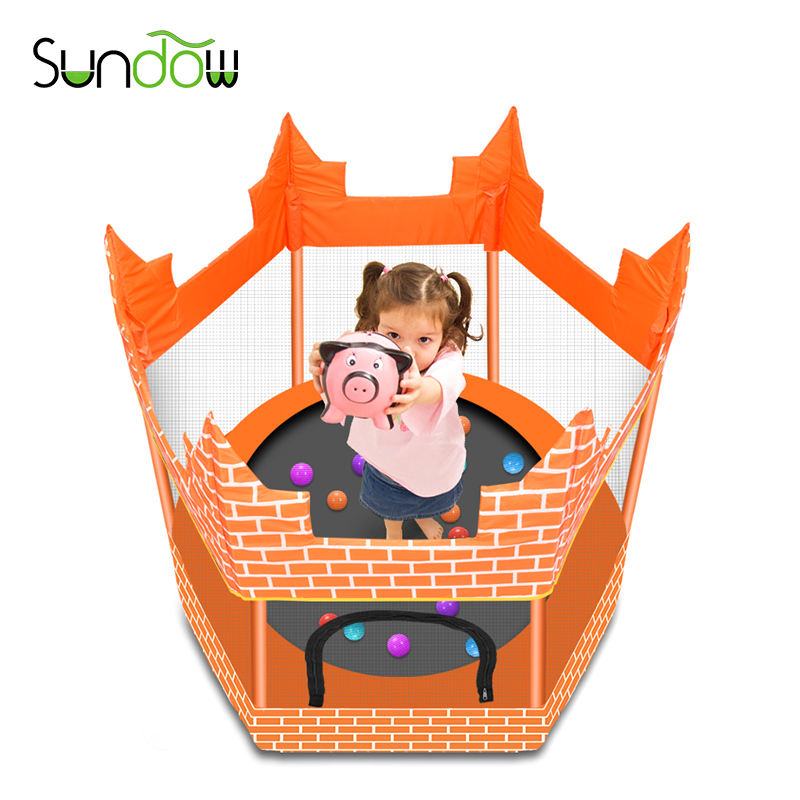 Professional factory manufacturing indoor trampoline for kids