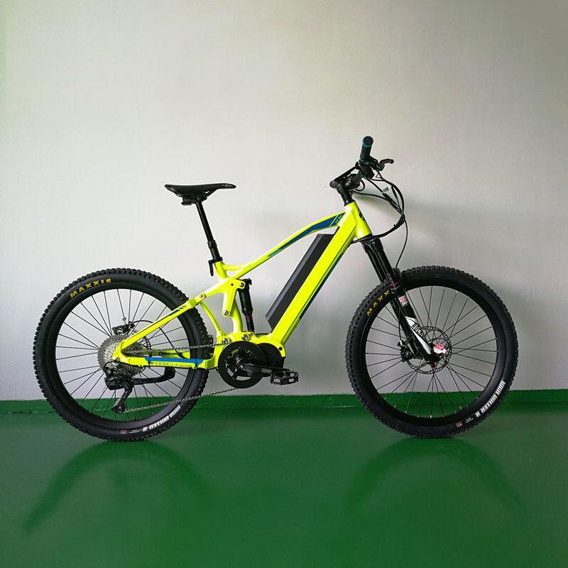 Super prestazioni Arrampicata e in discesa 1000 W Bafang metà motore elettrico di mountain bike
