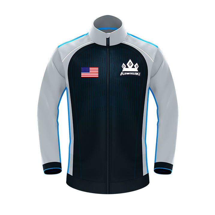 Tik Tok hot sale cool gaming jackets 100% polyester fabric clothes e sports jacket