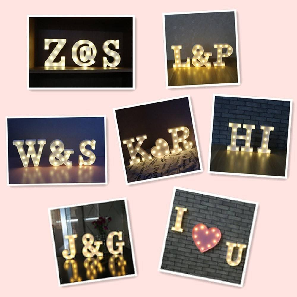 LED marquee light vintage LOVE marquee letters with 2AA replaced batteries operate