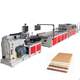 WPC Extrusion Machine / PVC Wall Panel Production Line / WPC Profile Extruder Making Machine