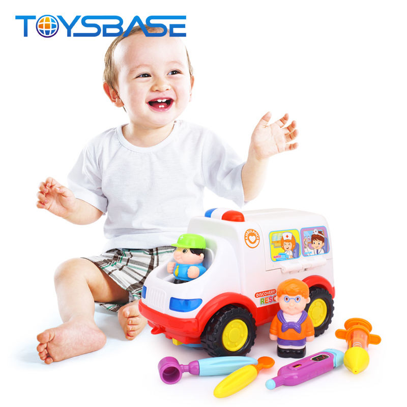 2-in-1 Ambulance Doctor Set Baby Toy Doctor Who Toy
