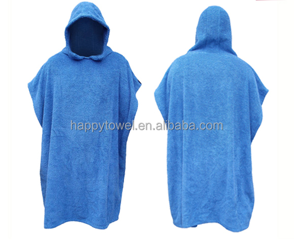 adult hooded towel surf poncho beach changing towel