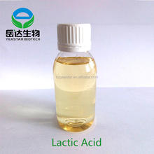 cosmetic grade lactic acid 88% with attractive price