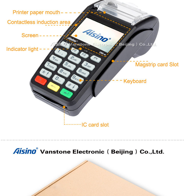 Tenuto in mano ha integrato Controsoffitto <span class=keywords><strong>POS</strong></span> V80 SE controsoffitto <span class=keywords><strong>pos</strong></span> con wifi <span class=keywords><strong>pos</strong></span> hardware