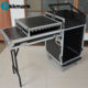 Aluminum flight case Amp rack dj case with drawer table wheels For Audio Equipment