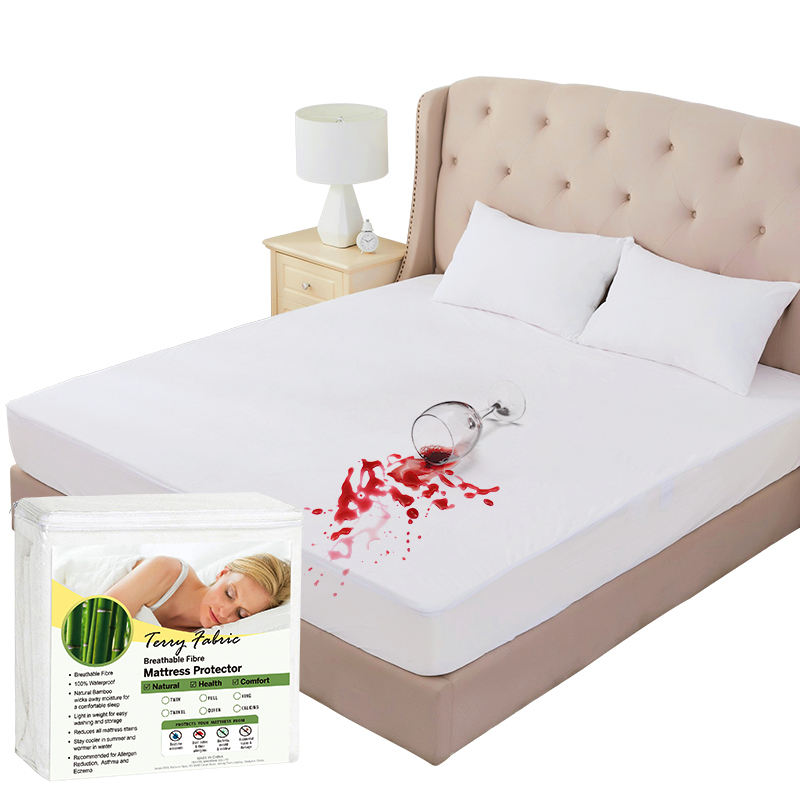 Premium Hypoallergeen Bed Bug Waterdichte Matras Cover Protector