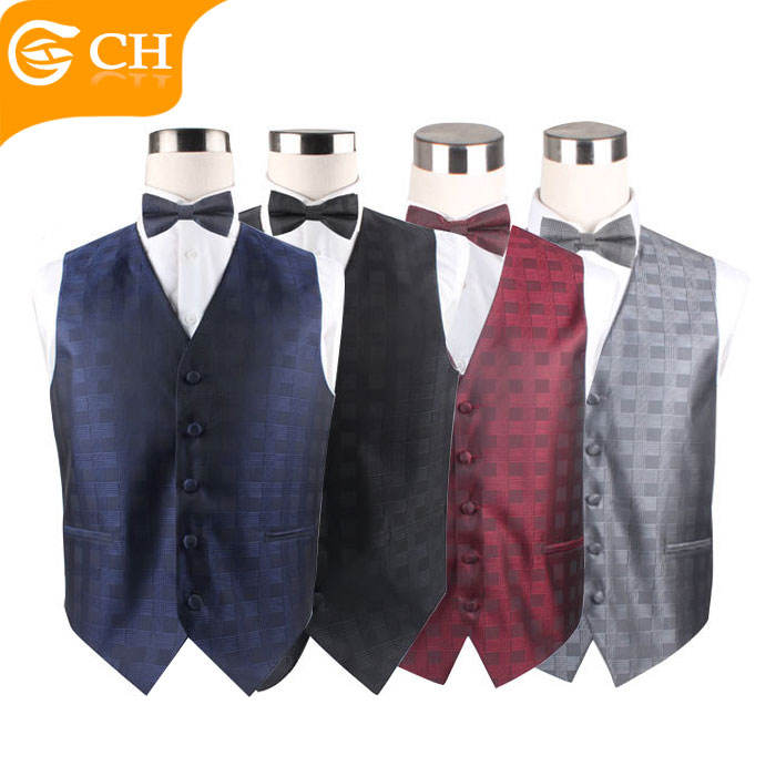Colorful Good quality Suit Vest/Waistcoat Set for Men Novelty