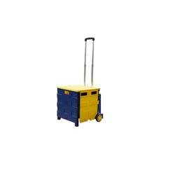 Folding Boot shopping Cart Trolley Crate Shopping Trolley on Wheels