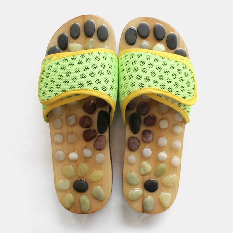 Top quality wholesale foot acupuncture massage slippers shoes