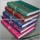 Handmade hardcover Silk Sari Journals Notebooks