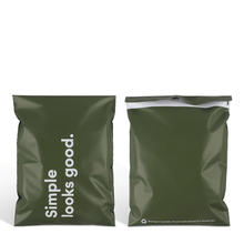 biodegradable customized personality logo designs matt courier envelope bag mailing