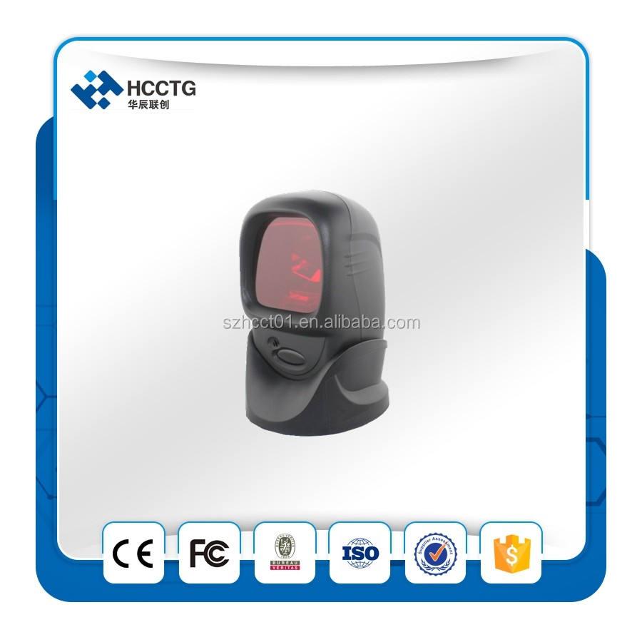 Omni Direcional Barcode Scanner De Código de auto scan HCC-7100 de Plataformas com tela