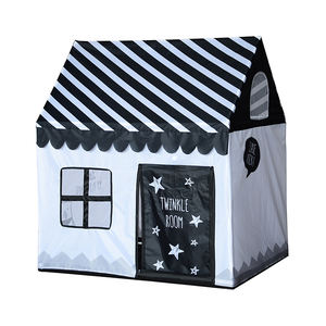 Portable stripe indoor outdoor Kids Play House Tent