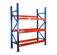 Customized 3 layer steel plate heavy storage Rack, metal storage shelf for eu warehouse